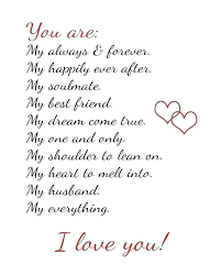 I Love My Wife Quotes Unique A Love Quote For Wife And Romantic Love Quotes For Husband From Wife