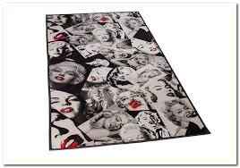 Marilyn Monroe Area Rug Designs