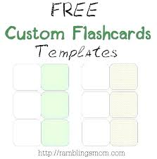 Flashcards Template For Word Printable Index Card Maker Flash Template Word 2013 Traguspiercing