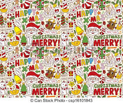 Christmas Pattern Background Impressive Seamless christmas pattern background