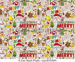 Christmas Pattern Background Impressive Seamless Christmas Pattern Background
