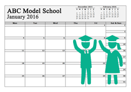 School Calendar Templates Calendar Templates Customize Download Calendar Template