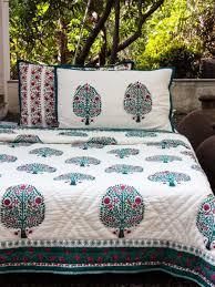 jaipuri razai hand block print cotton quilt jaipuri quilt