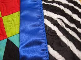Cheeky Cognoscenti: Satin Blanket Binding Is Evil, and Pineapple ... & Satin Binding, Back of Quilt . Adamdwight.com