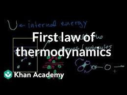 First law of thermodynamics / internal energy (video) | Khan Academy