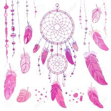 What Native American Tribes Use Dream Catchers Dreamcatcher Set Of Ornaments Feathers And Beads Native 83