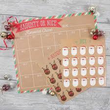 Christmas Chart Images Christmas Reward Chart Naughty Or Nice