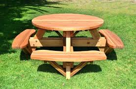 round picnic table wooden lifetime round picnic table folding lifetime round picnic table wooden picnic table