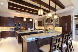Modern Luxury Kitchen With Granite Countertop