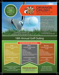 Annual Golf Outing Orange Crush
