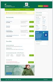 portfolio work lloyds bank internet banking 02