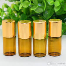 image most popular 3ml amber essential oil bottles small glass