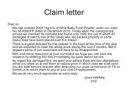 Claim Letters Letters Of Claim Magdalene Project Org