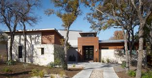Modern home austin cornerstone architects