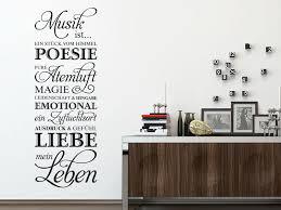 Wandtattoo Musik Ist Meine Leben Klebeheldde