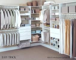 easy track closet organizer reviews corner shelves installation