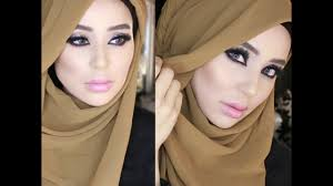 2 hijab styles ds and twist turban with front coverage by fatiha sworld