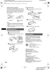 mexbt3600 bluetooth audio system user manual mex bt3600u sony Explod Sony Cdx Gt40uw Wire Diagram at Sony Mex Bt3600u Wiring Diagram