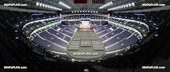 Bridgestone Arena Seat Row Numbers Detailed Seating Chart