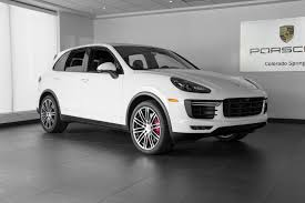 porsche truck 2018. new 2018 porsche cayenne turbo | colorado springs, co truck