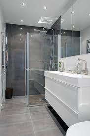 small modern bathroom. Une Salle De Bains Grise - élégance Et Chic Contemporain Archzine.fr. ReliefMinimalist BathroomModern BathroomSmall Small Modern Bathroom