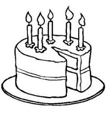 Small Picture Happy Birthday Cake Online Coloring Page Stuff to Buy