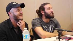 an interview vikings stars travis fimmel and clive standen an interview vikings stars travis fimmel and clive standen at sdcc