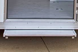 aluminum pull out step