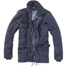 brandit m65 voyager wool navy 3147 8 padded men s jacket autumn winter jacket