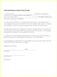 Photography Release Form Template Photo Waiver Print New
