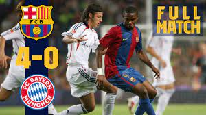 Maybe you would like to learn more about one of these? Full Match Barca 4 0 Bayern 2006 With Eto O Ronaldinho Xavi Youtube