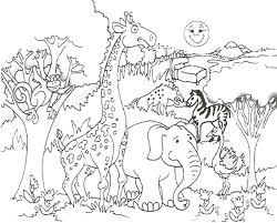 Small Picture African animals coloring pages