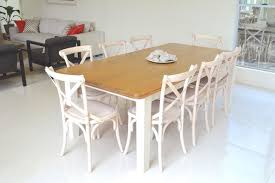 white dining table shabby chic country. White Wash Cross Back Chairs And Country Style Table Shabby-chic-style- Dining Shabby Chic O