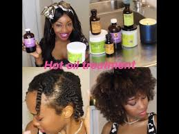 diy hot oil treatment for natural hair