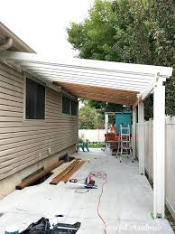 perfect pergola pergola attached to house learn how build a patio on budget step by plans kits with p