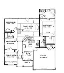 images about House Plans on Pinterest   Open House Plans      open house plans   Large Open Kitchen  HWBDO     Traditional House Plan