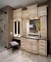 custom bathroom cabinet ideas. Contemporary Ideas Inspiring Vanity Ideas Custom Bathroom Mirrors Master  With Makeup Areajpg In Cabinet O