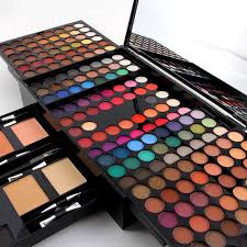 whole miss rose eye shadow 2 powder blusher 6 eyebrow makeup kit top quality lady s