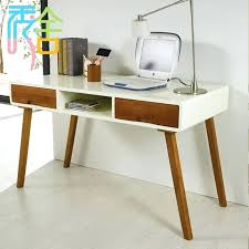 wood desk with drawers study show homes modern minimalist wood desk with drawers computer desk m wood desk with drawers