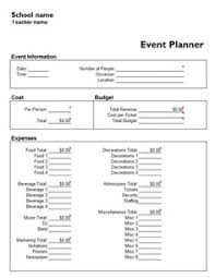 Event Planning Template 21 Free Event Planning Templates