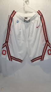 Official facebook page of ohio state men's basketball. Ohio State Buckeyes Nike Dri Fit Authentic White Basketball Shorts Men S Large 1883263086