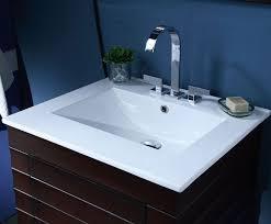 xylem wave 24 contemporary bathroom vanity top