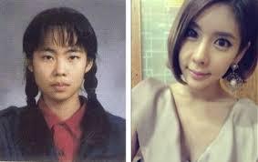without makeup photos after photos before and after9 middot korean actress