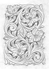 leather tooling patterns leather pattern wood carving patterns wood carving designs leather