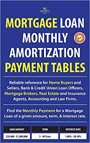 Loan Amortizer Mortgage Loan Monthly Amortization Payment Tables Easy To