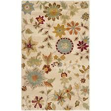 safavieh soho collection soh702a handmade ivory and sage premium wool area rug 2 6