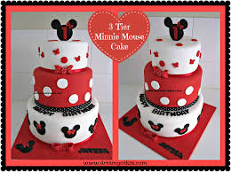 Minnie Mouse 2nd Birthday Cake Ideas 1st Images Near Me Mickey And