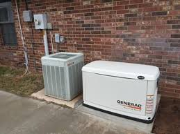 This Generac Guardian Series Standby Generator protects your home