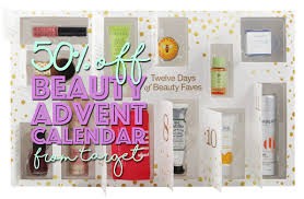target s 12 days of beauty faves advent calendar is half off broke and beautiful lovin