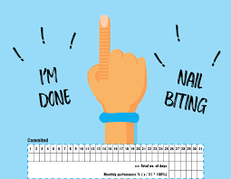 Entry 18 By Kserox For Illustrate My Nail Biting Chart